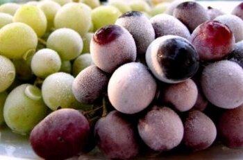 Правильное хранение винограда
